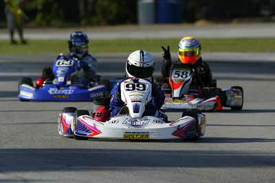 Sterling Shaw (99) takes first national win, Sergio Pena (58), Christian Pahud (63) (Photo-Sean Buur, Go Racing)