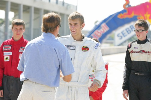 Young American Very Impressive at 2005 Red Bull Driver Search
